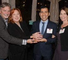 Images from the New York Out & Proud Corporate Counsel Award Reception at the Eventi Hotel. Frank Martinez, vice president for legal affairs for LVMH Moët Hennessy Louis Vuitton Inc., was honored at the reception October 13, 2016.