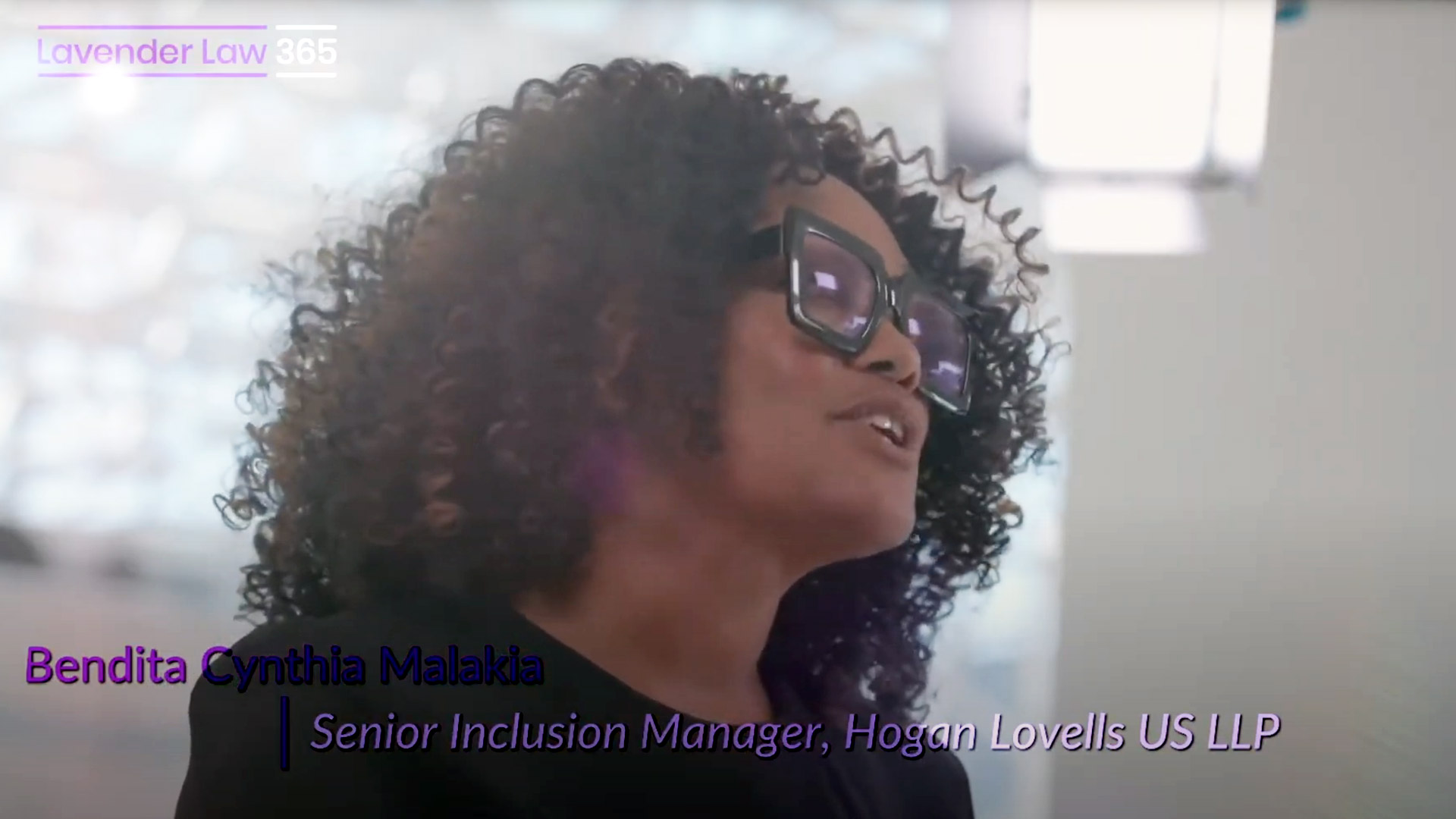 Bendita Cynthia Malakia, Senior Inclusion Manager, Hogan Lovells US LLP on Diversity, Equity and Inclusion and the Lavender Law 365® Program