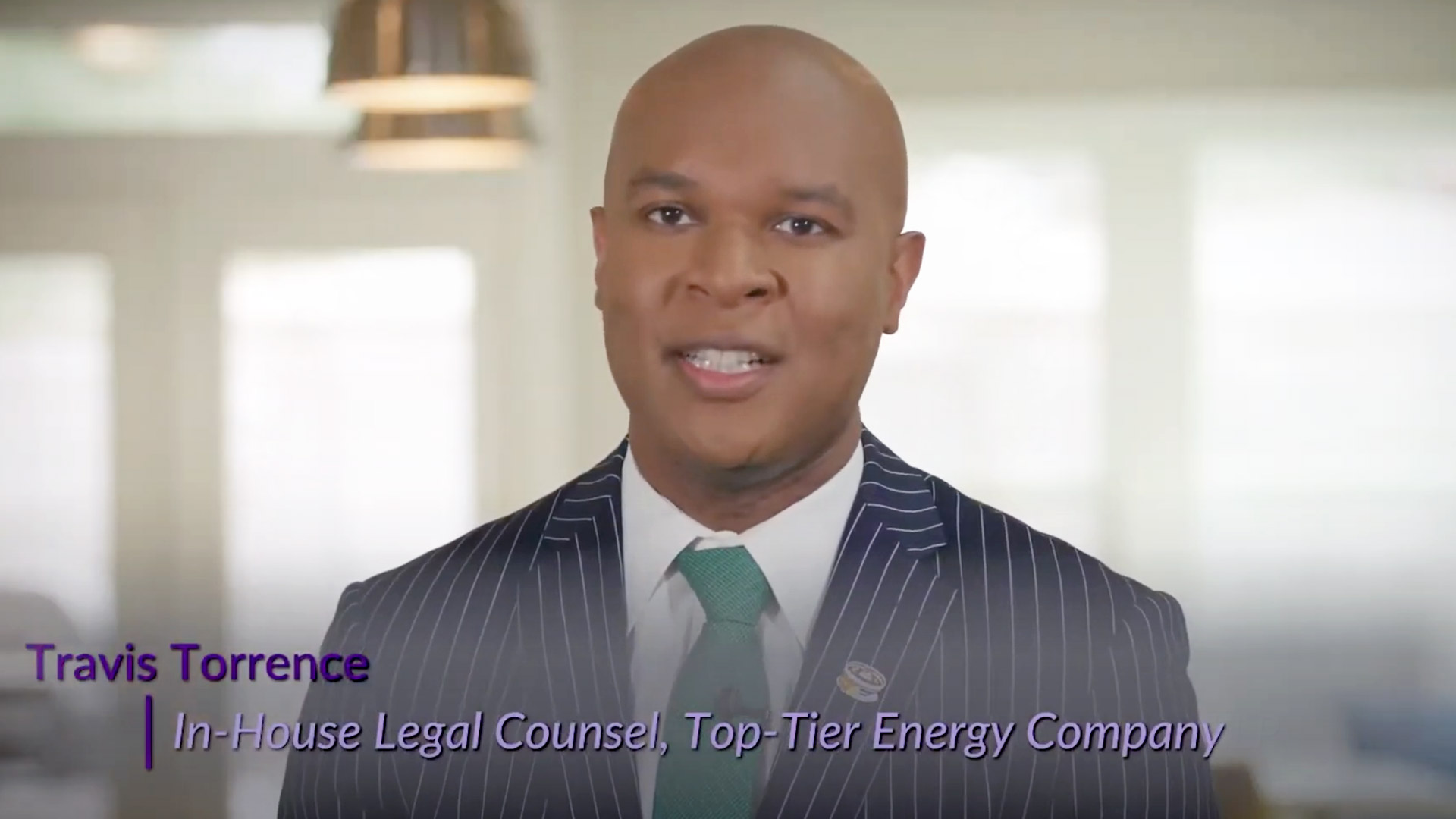 Travis Torrence on Diversity, Equity and Inclusion and the Lavender Law 365® Program - Part 1.